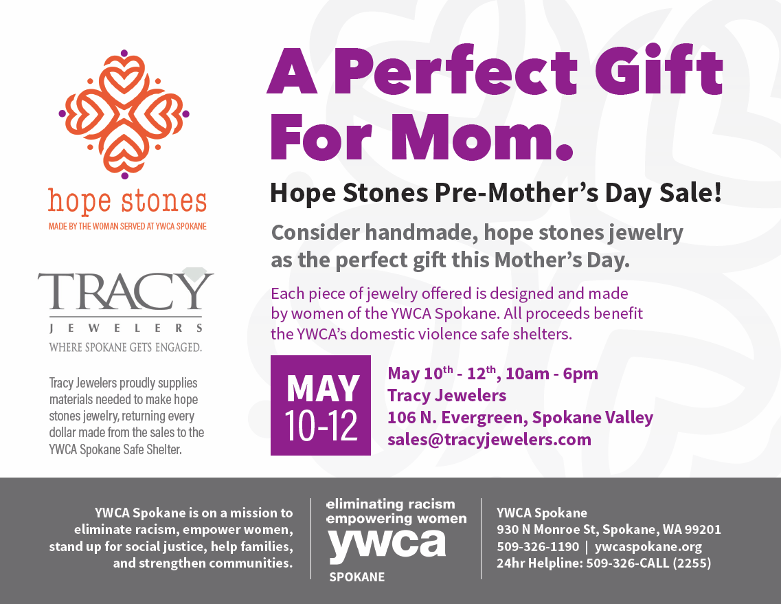 Hope Stones Flyer - Mothers Day 2017