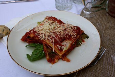 Chef Gina Lanza Artichoke Pesto Lasagna