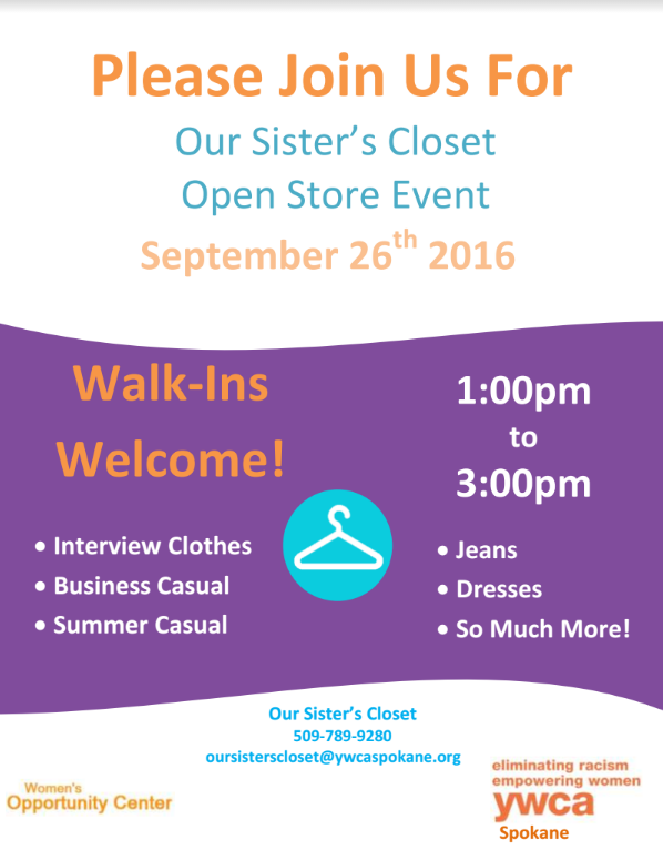 OSC Open Store Event Sept 26 2016