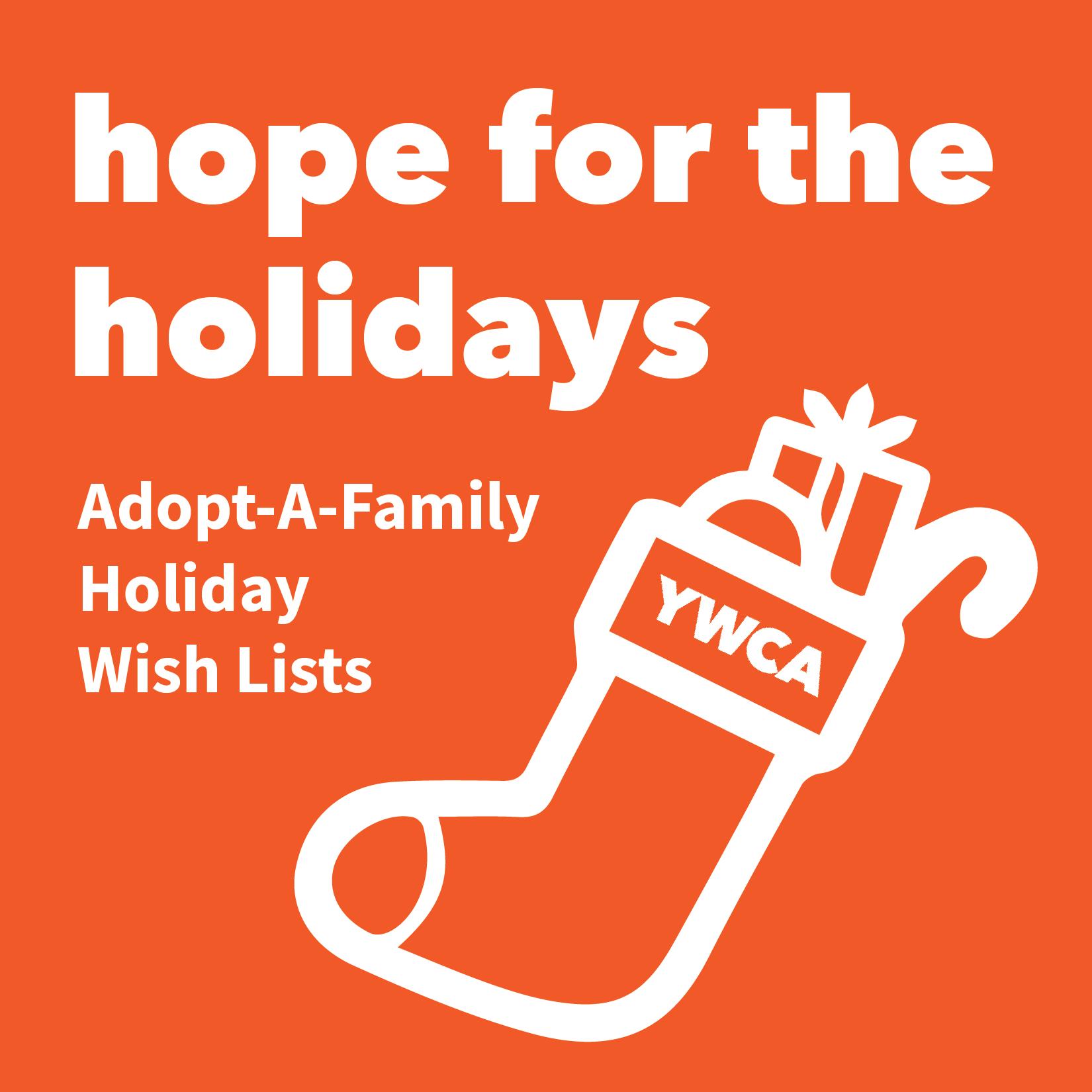 YWCA Adopt-a-Family Holiday Wish List Program