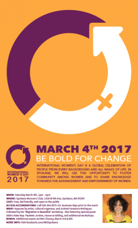 International Women's Day - Spokane 2017 @ Spokane Woman's Club