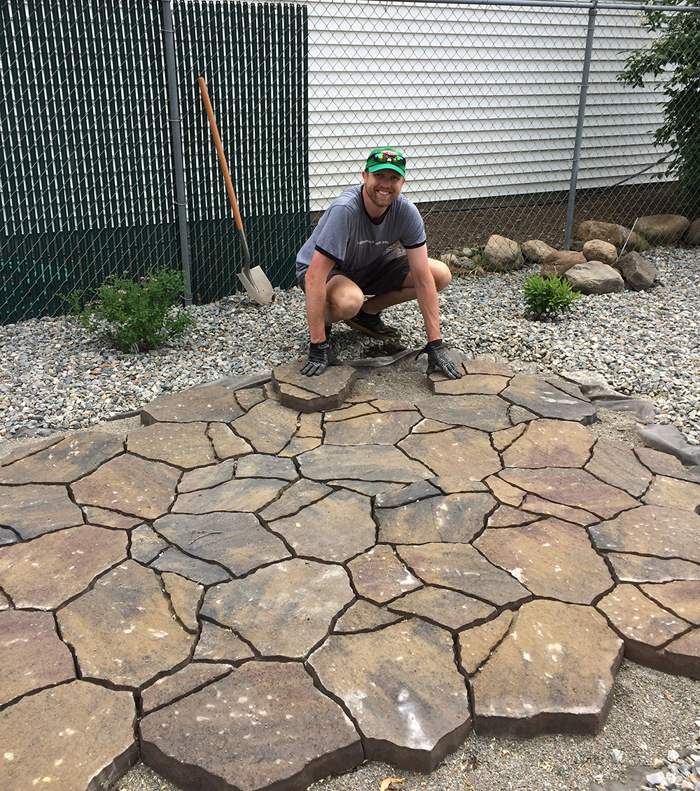 Landscaping bark spokane : Shelter landscape remodel ywca spokane