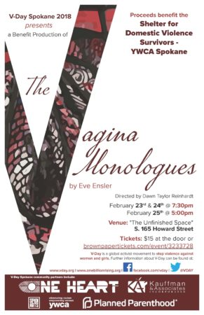 Vagina Monologues @ The Unfinished Space