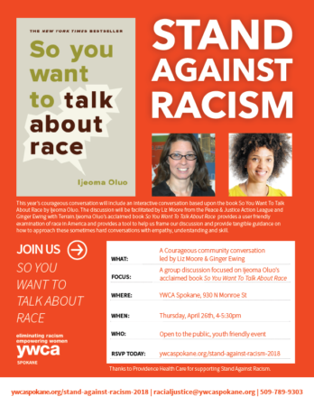 Stand Against Racism 2018 @ YWCA Comstock Room