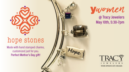 Y WOMEN Hope Stones Event @ Tracy Jewelers