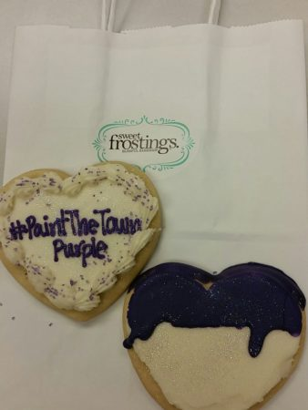 End the Silence Cookies at Sweet Frostings @ Sweet Frosting's Blissful Bakeshop