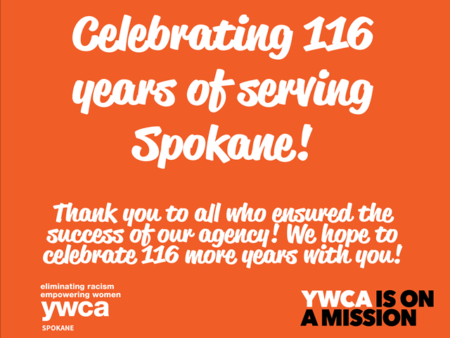 YWCA Spokane's 116th Birthday! @ YWCA Spokane