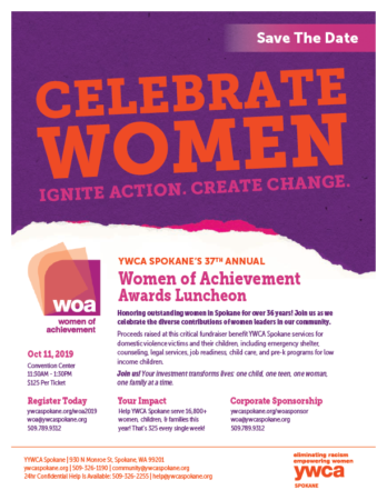 Women of Achievement 2019 @ The Convention Center