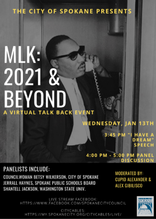 MLK: 2021 & Beyond @ Virtual Event